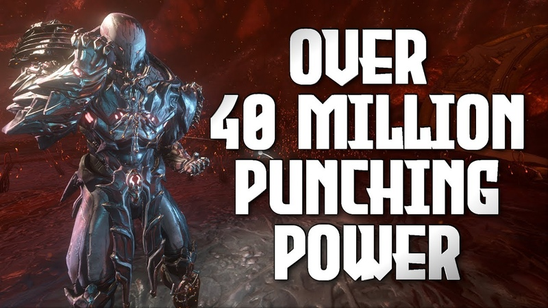 The Most Devastating One Punch Build for Atlas Warframe Helminth Combo