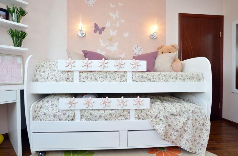 Плюсы и минусы двухъярусных выдвижных кроватей, популярные дизайны, изображение №25