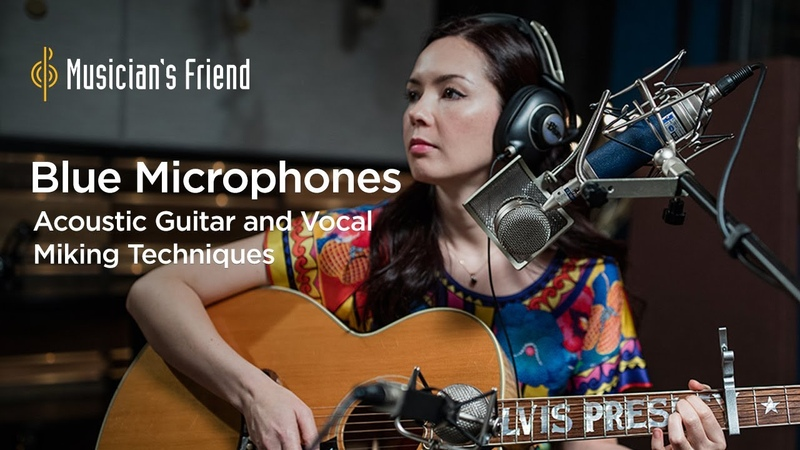 Acoustic Guitar and Vocal Miking Techniques with Blue Microphones, Cameron Webb and Marié Digby