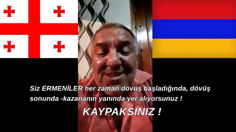 ERMENİSTAN KAYPAKTIR AZERBAYCAN HALKI DOSTTUR Gürcü Vatandaşı Ermenilerin Halkını Anlatıyor