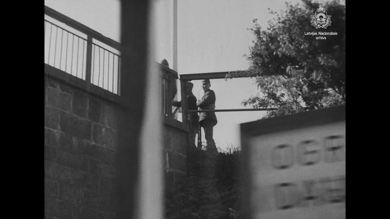 """Dokumentālā filma 1934 gada 16 maija rīts Rīgā"""" 1934 gads fragments"""