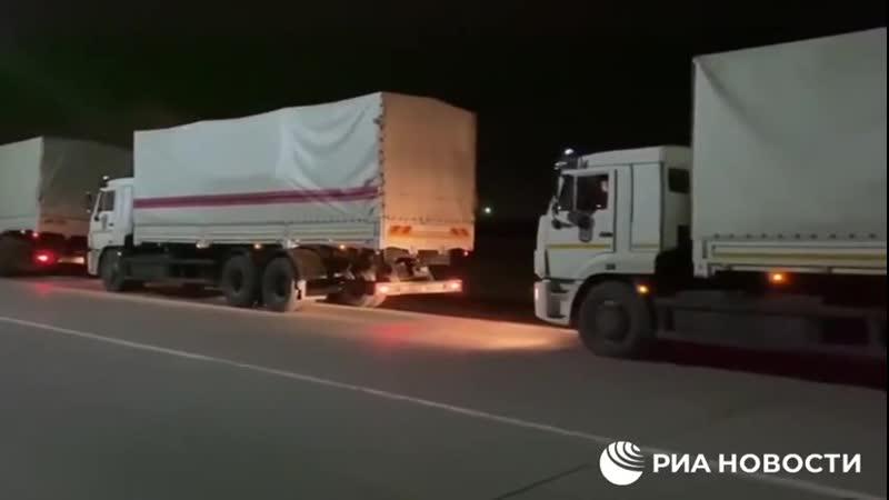 Теперь белые КАМАЗы поехали в Карабах