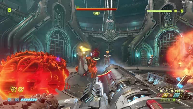 Doom Eternal Вавилонская башня стражей Твердыня Стражей