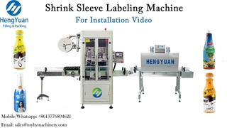 Installation and Operation of Automatic Shrink Sleeve Labeling Machine