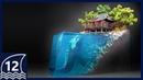 DIY. Forgotten shrine and guardian diorama【thalassophobia Aquaphobia Cryptid Creature Resinart】