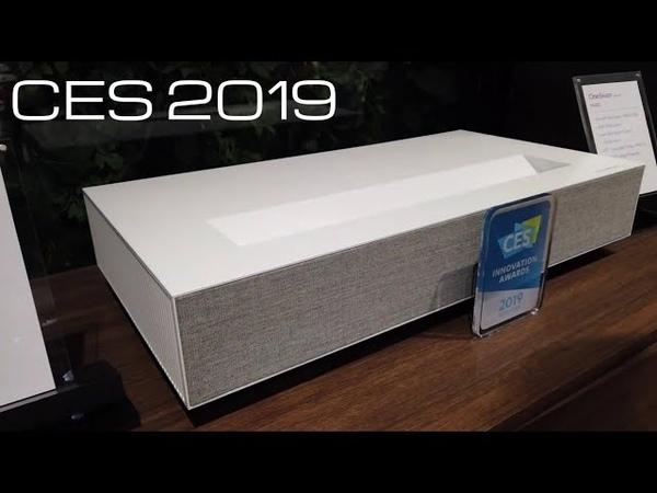 LG Laser 4K Ultra short throw Projector CES 2019