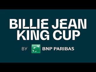 Billie Jean King Cup by BNP Paribas Play-off. Ukraine – Japan. Day 1.