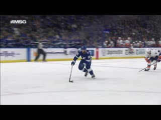 Semyon Varlamov Makes Great Save That Leads To Beauty Ross Johnston Goal