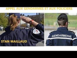 Urgent ! Appel de Stan Maillaud aux gendarmes et aux policiers
