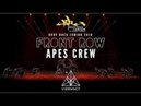 2nd Place Apes Crew Front Row 4K ¦ Body Rock Junior 2018 @VIBRVNCY