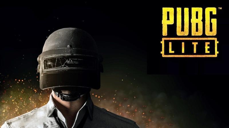 Первая катка в SOLO в игре PUBG LITE -PlayerUnknown's Battlegrounds