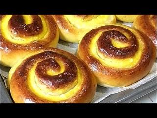ТВОРОЖНЫЕ ЗАВИТУШКИ. /Curd buns. Рецепты от Галины.