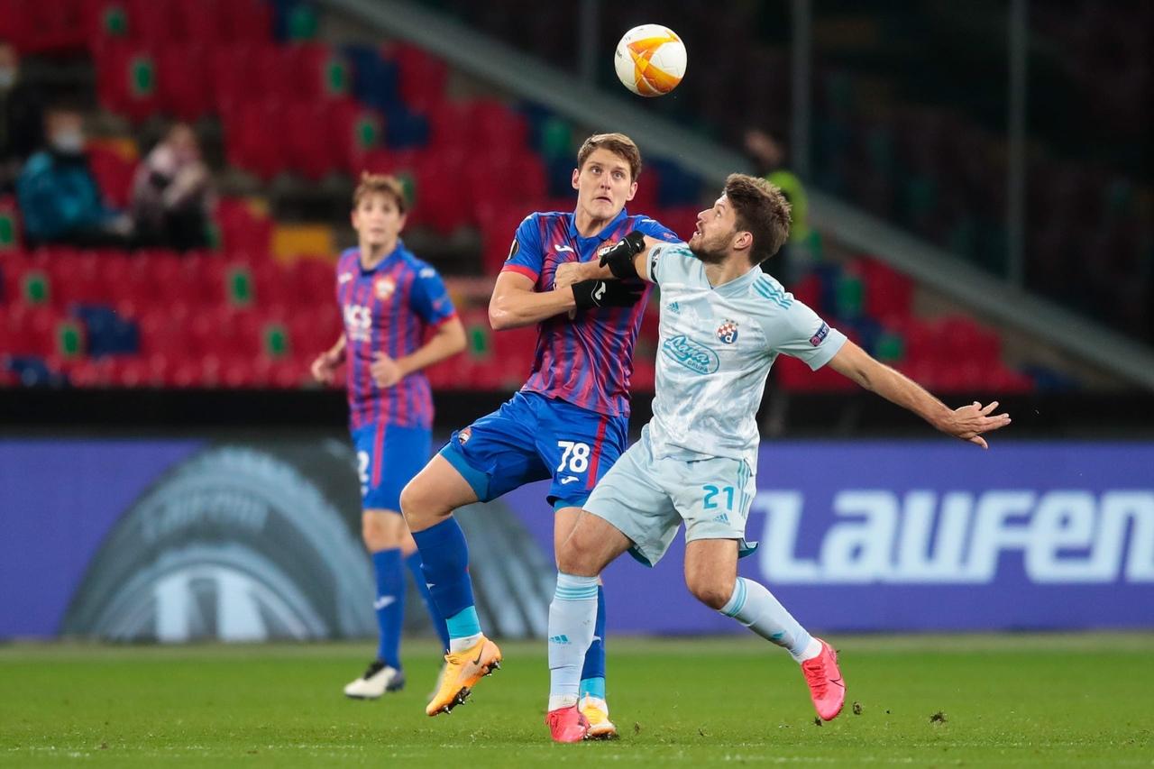 ЦСКА - Динамо Загреб, 0:0