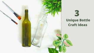 3 DIY Bottle Art Ideas