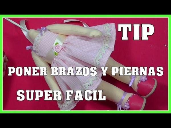 TIP PONER BRAZOS Y PIERNAS DE MUÑECAS SUPER RAPIDO video 410