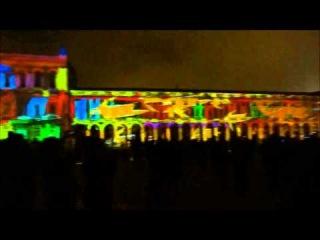 Lisboa Terreiro do Paço - Video Mapping 3D Show  A Primavera