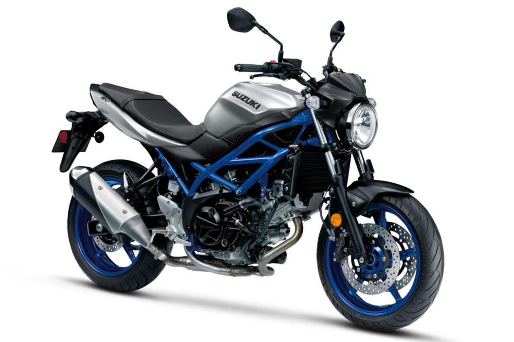 Мотоциклы Suzuki SV650 и Suzuki V-Strom 650 обновят по стандарт евро5