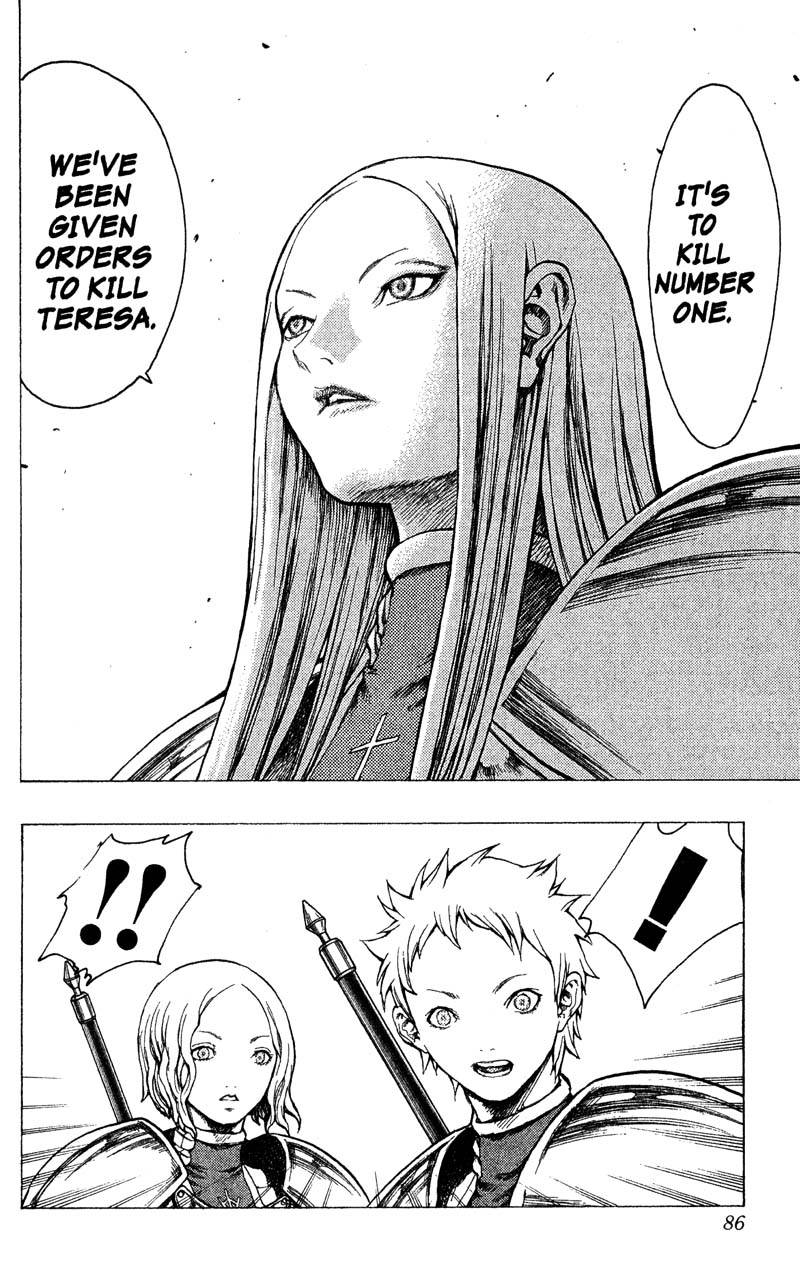 Claymore, Chapter 18, image #15