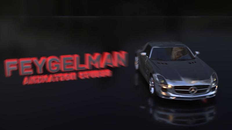 3D Intro для автоканала