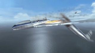 Самолет развалился в воздухе. Авиакатастрофа самолета de Havilland Comet возле Эльбы.