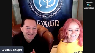 AMBERIAN DAWN - Livestream Q&A #NapalmSofaSeries
