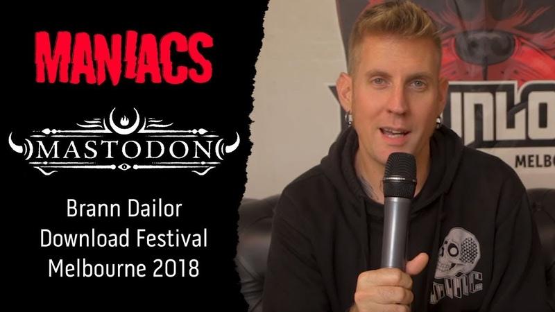 Mastodons Brann Dailor Recalls His Most Memorable Music Festival Experiences!
