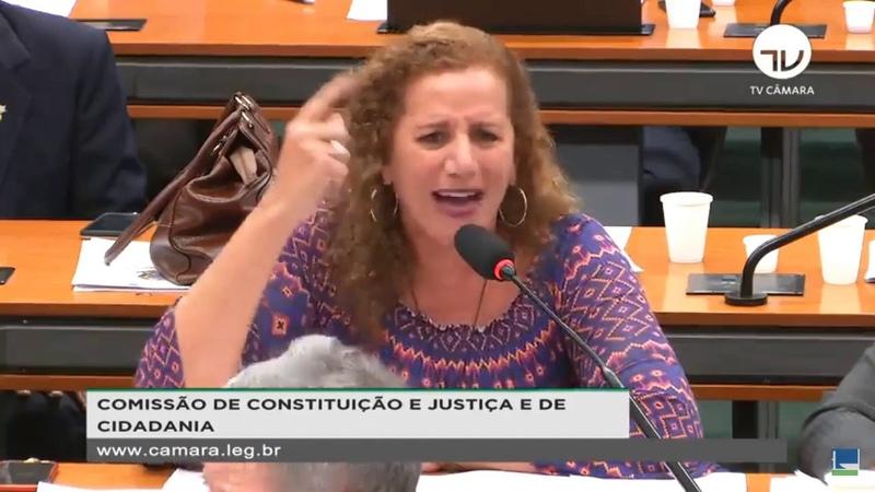 JANDIRA FEGHALI PEITA SÉRGIO MORO