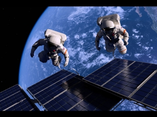 Астронавты Камиль и Газиз