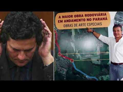 Sérgio Moro tem áudios de propina da Odebrecht para Beto Richa