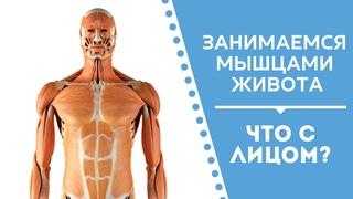 Связь лица и мышц живота. Запись прямого эфира