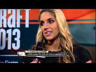 WNBA 2013 Draft: #2 Pick Elena Delle Donne