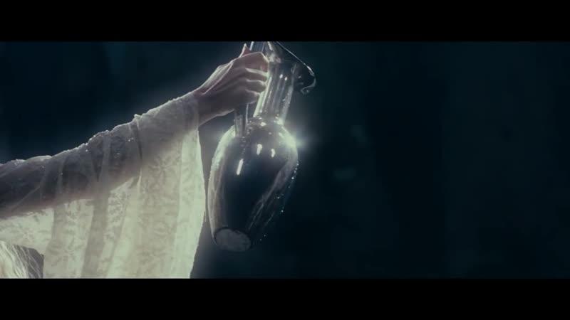 Фродо смотрит будущее в Зеркале Властелин колец Братство кольца
