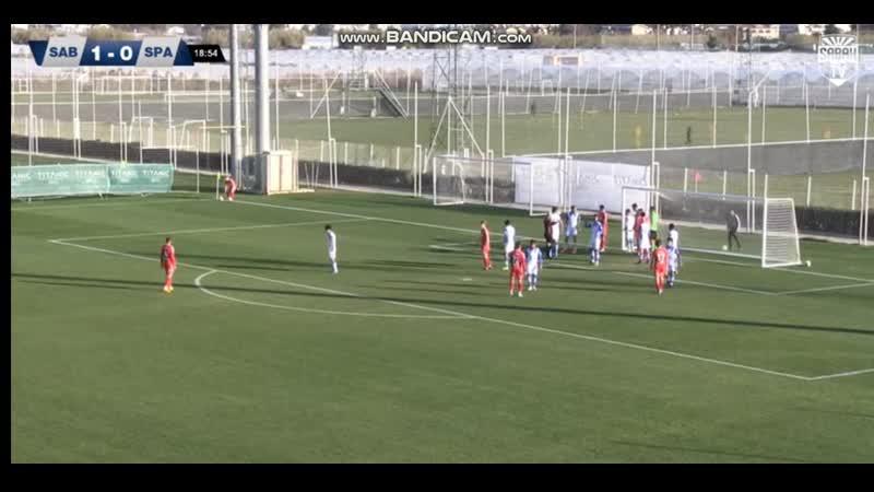 FCSM Youth Sabakh Baku Azerbaijan 2 2 Nikita Morgunov goal assist Dmitry Mitroga