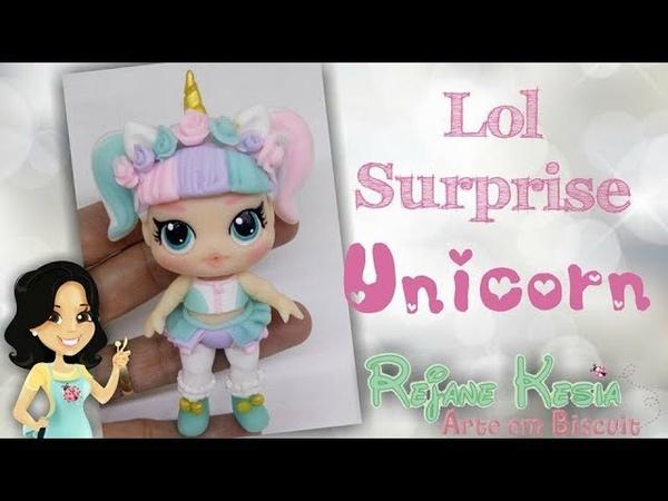 Lol Unicorn de Biscuit DIY Rejane Kesia