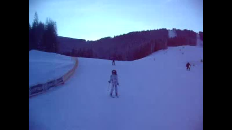 My skiting in carpathians))
