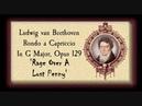 Beethoven - Rondo a Capriccio, Opus 129 'Rage Over A Lost Penny'