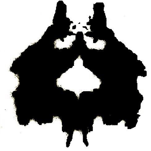 Психологические картинки что вы видите черно белые