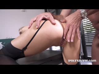 [PrivateMilfs / Private] Florane Russell - Anal At The Office (09-09-2020) [2020, Anal, Big Tits, Blowjob, Blonde, Deepthroat]