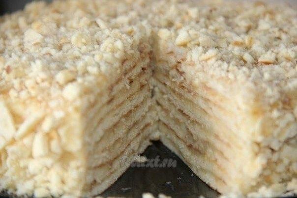"""Торт """"Минутка"""" без выпечки  Вам потребуется:  Для коржей: 3 ст. муки; 1..."""