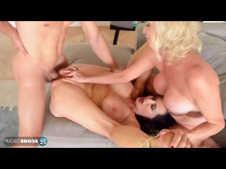 Rita Daniels and Leah L`Amour - Dream Three-Way [Mature, Anal, Threesome, All Sex, 1080p]