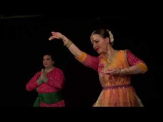 Indian dance studio Chaturang | Guru Padam | Guru Charananan | Kathak | Saint-Petersburg, 2019