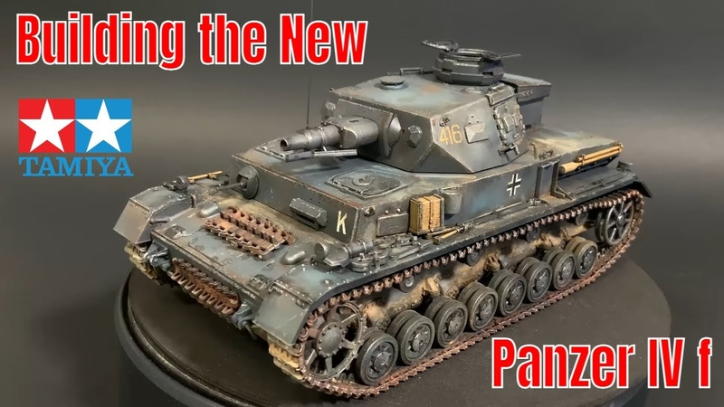 Building the New Tamiya 1 35 Panzer IV ausf F New release plastic model kit
