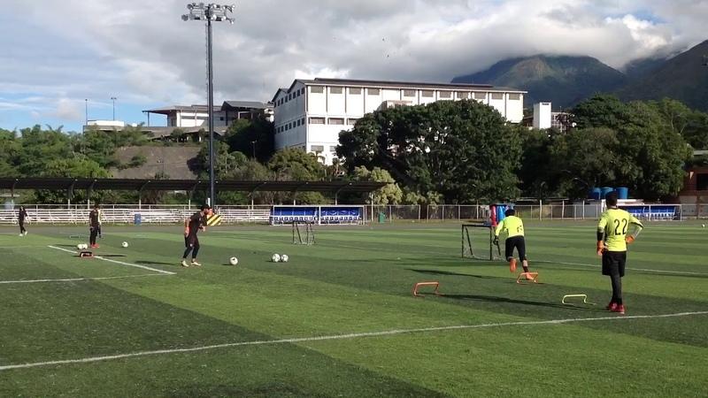 Maickel Romero Entrenamiento de Porteros último entrenamiento con Metropolitanos Fc