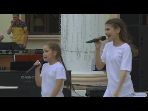 День города в Армавире завершился большим концертом у Школы искусств