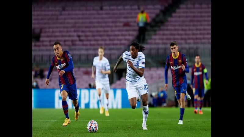 Барселона розгромила Динамо и досрочно вышла в плей офф Лиги чемпионов