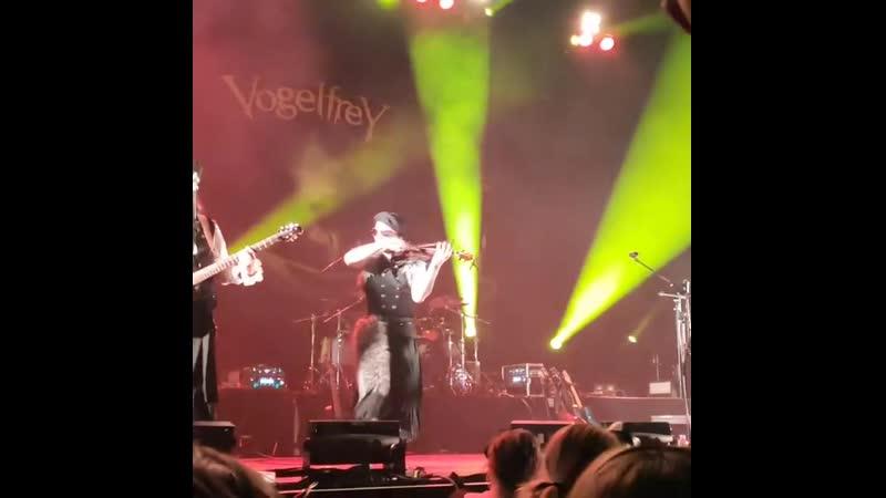 Vogelfrey - Horner Hoch live at @Bochum 26.12.2019