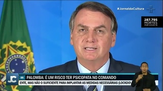 Guido Palomba aponta sinais de desvio de personalidade em Jair Bolsonaro