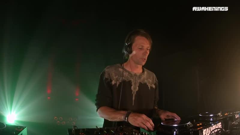 Techno Bart Skils at the Gashouder for Awakenings Festival 2020