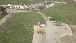 Строительство дороги к крепости Керчь.