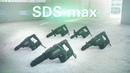 Die neuen Metabo SDS-max Hämmer. Stark. Robust. Brushless.